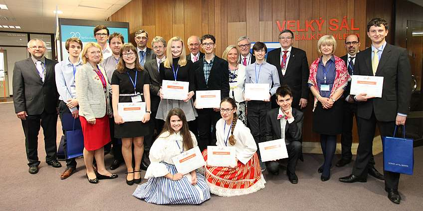 The winners of the JuniorErb 2017 competition