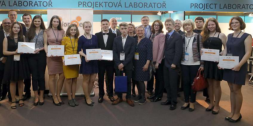 The winners of the JuniorErb 2019 competition